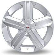 kit 4 Rodas Aro 18x7 Astra Gsi 5X110 Prata BRW 180