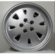 kit Rodas Zk-540 Opala 92 15x6 5x114,3 Prata Diamante