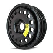 Rodas Aro 17x4 Black Estepe Mercedes/Vw 5x112 Black Et17 Krmai K58