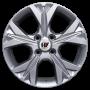Kit 4 Rodas Aro 15x6 Ramlow Gm Novo Onix Turbo 4x100  Prata P7030