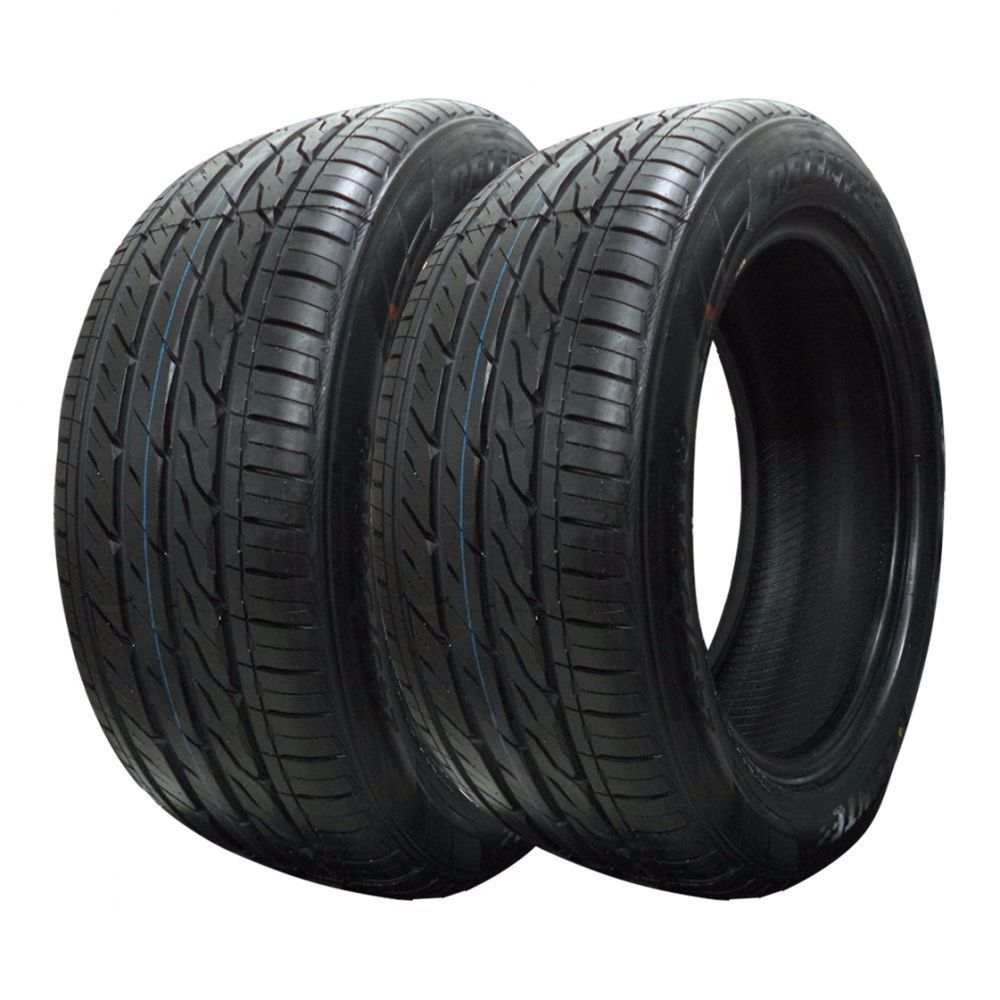 Kit 2 pneus Delinte DH6 run flat 255/35R18 90W