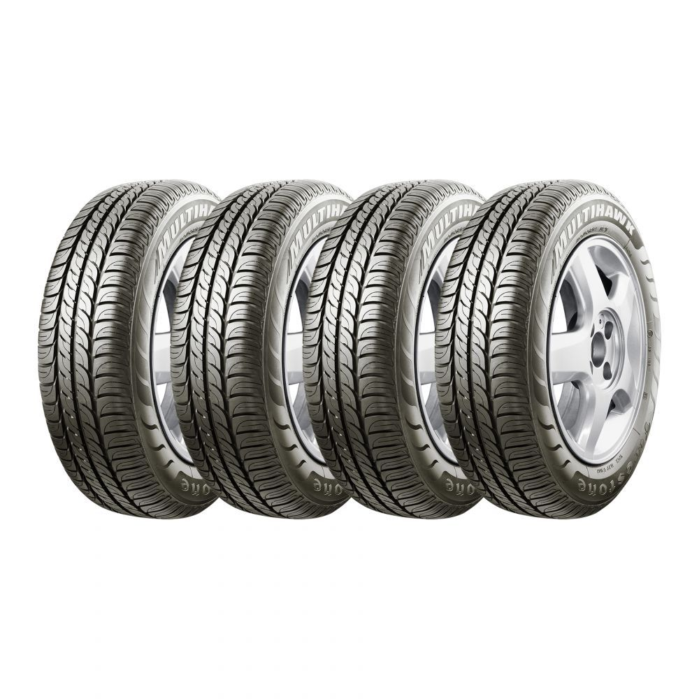 Kit 4 Pneu Firestone Aro 14 165/70R14 Multihawk 81T