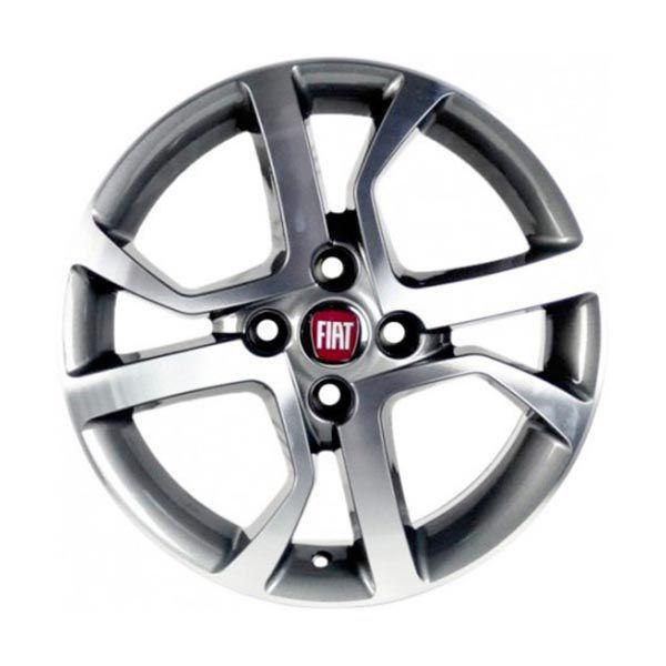 Kit 4 Rodas Aro 14x6 Fiat Mobi Like On 4x98 GD Zk-660