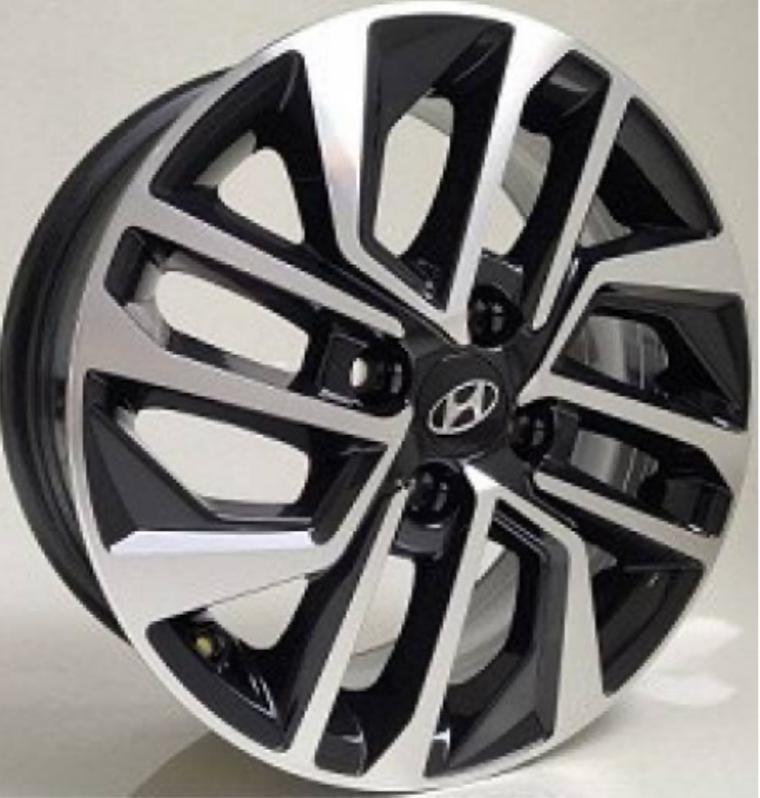 Kit 4 Rodas Aro 14x6 Hyundai HB20 4x100 BD Krmai S20