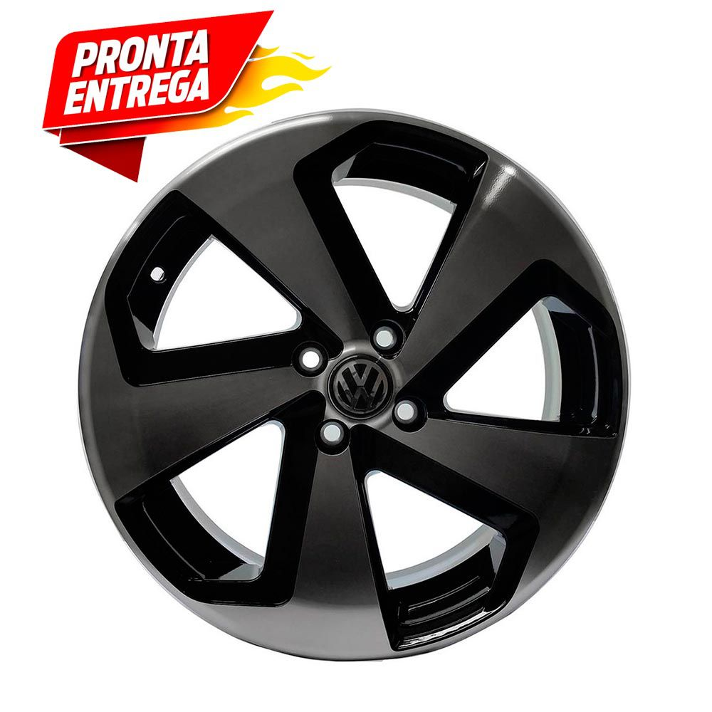 Kit 4 Rodas Aro 14X6 Vw Golf Gti vc 4x100 BD Zk-650