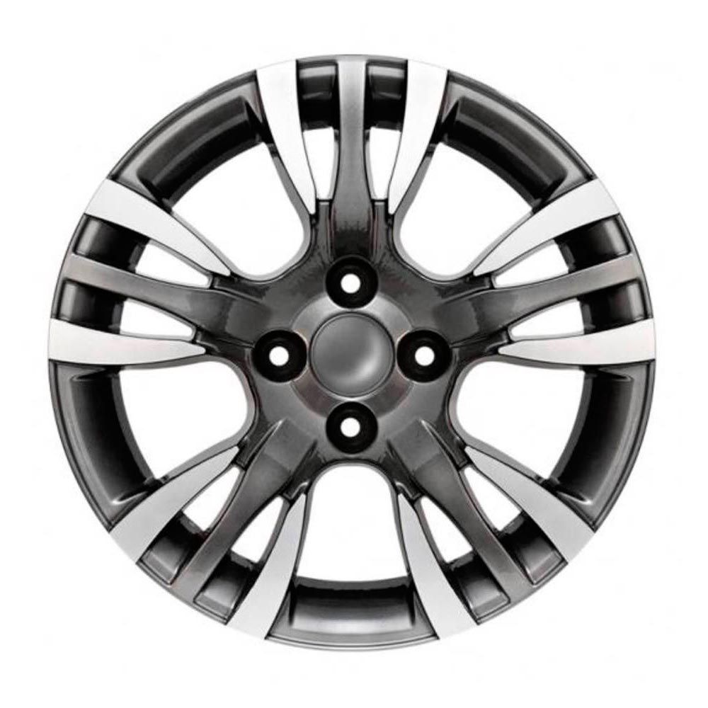 Kit 4 Rodas Aro 15x6 Fiat Palio Sporting 4X98 GD BRW 780