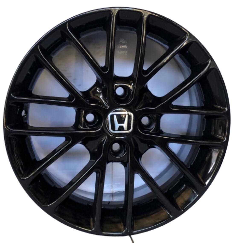 Kit 4 Rodas Aro 15x6 Honda Esportiva  4X100 Et40 Black EW B20