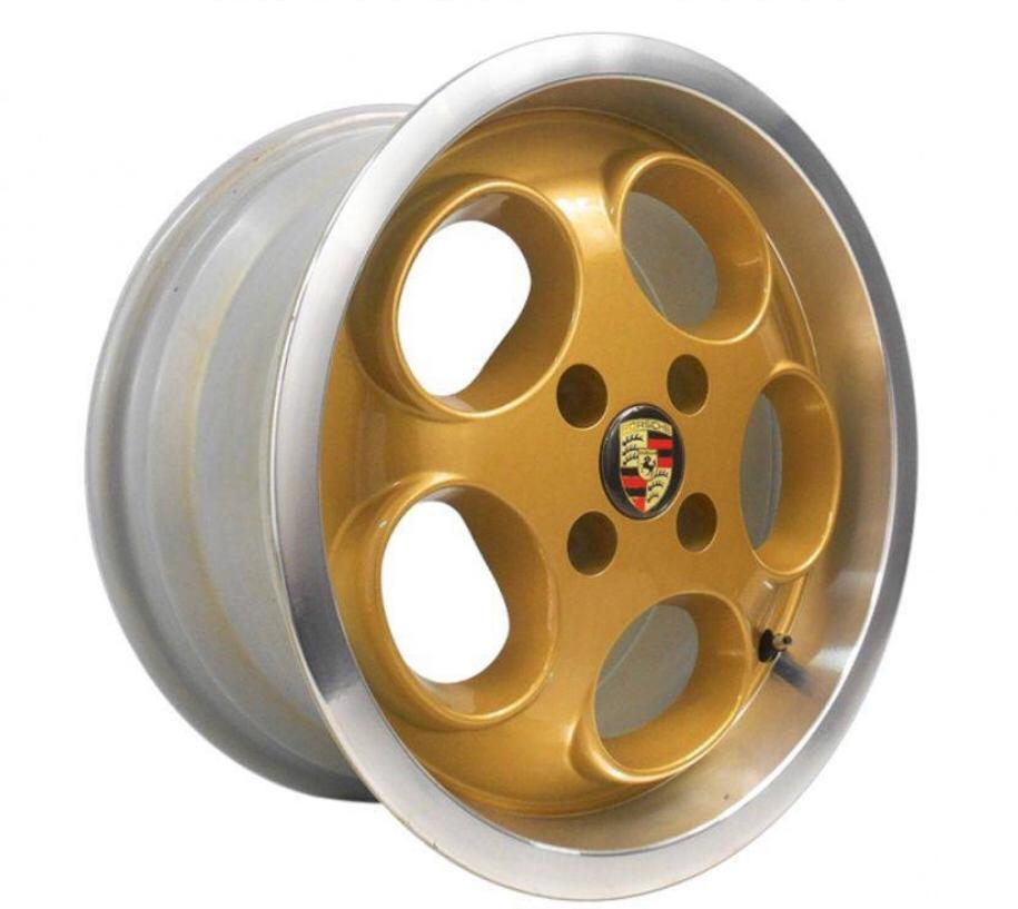 Kit 4 Rodas Aro 15x6 Porsche Le Mans 4x100 DIAM.GOLD EW928