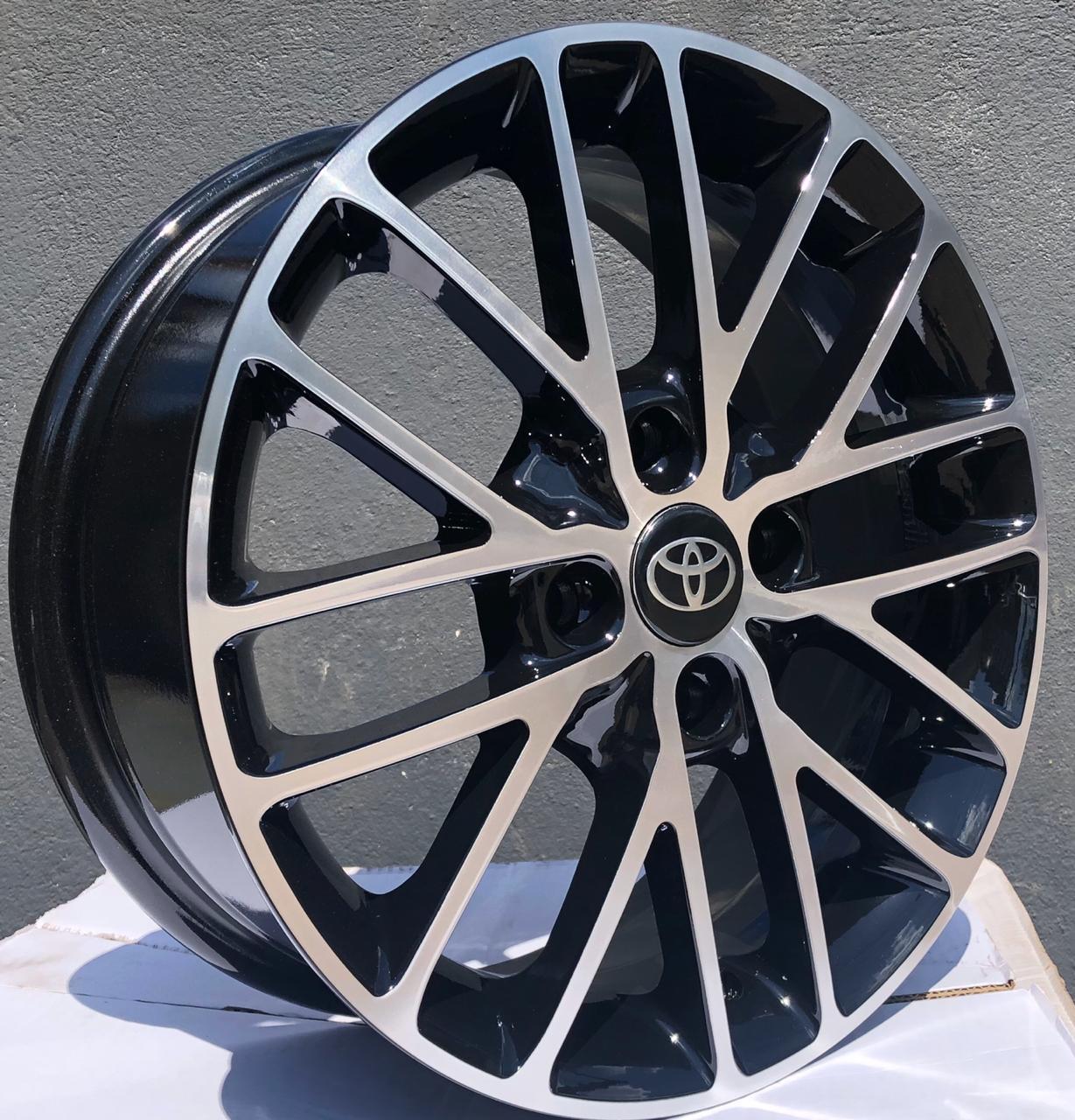 Kit 4 Rodas Aro 15x6 Toyota Esportiva  4X100 Et40 BD EW B20