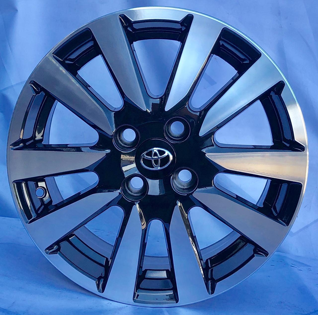 Kit 4 Rodas Aro 15x6 Toyota Etios 4x100 BD Krmai R81