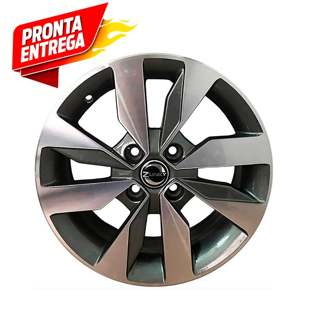 Kit 4 Rodas Aro 15x6 Vw Gol G7 4x100 GD Zk-640