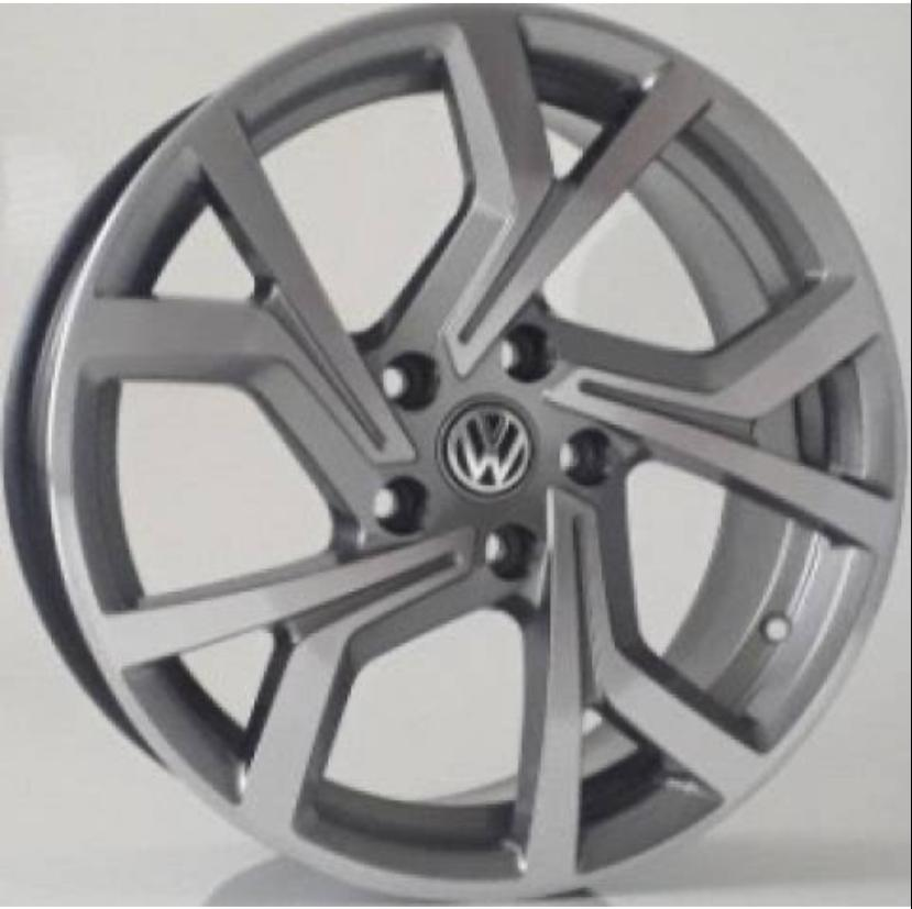 Kit 4 Rodas Aro 15x6 Vw Golf GTI 18 5x100 GD Krmai R94