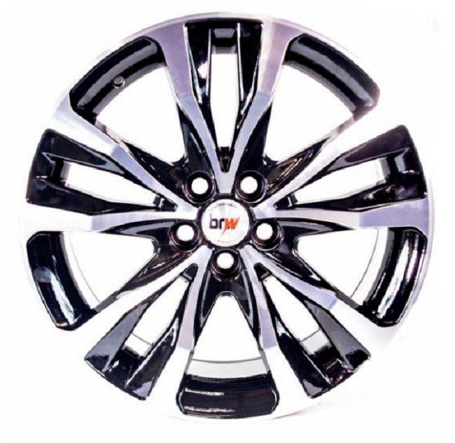 Kit 4 Rodas Aro 16X6 Corolla XRI 5X100 BD BRW 1280