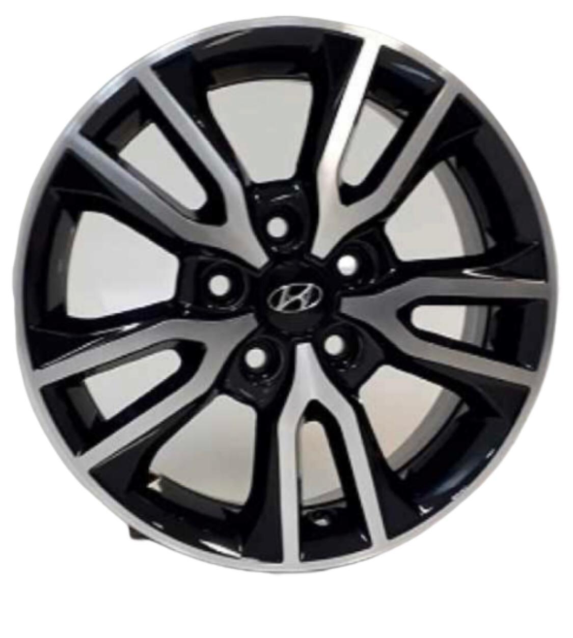 Kit 4 Rodas Aro 16x6 Hyundai Creta  5x114,3 BD Krmai R98