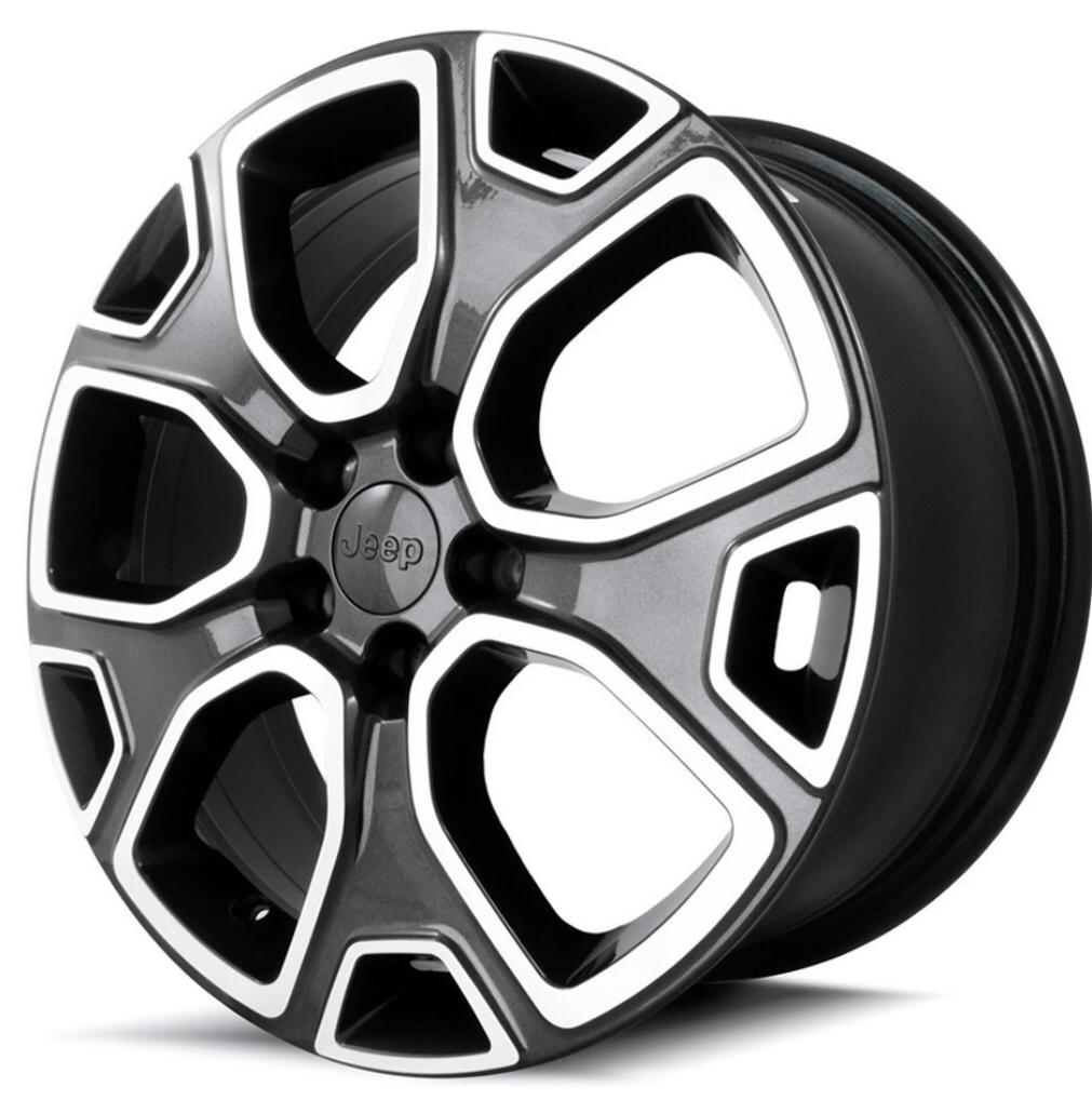 Kit 4 Rodas Aro 16x6 Jeep Renegade 5x110 BD Zk-855