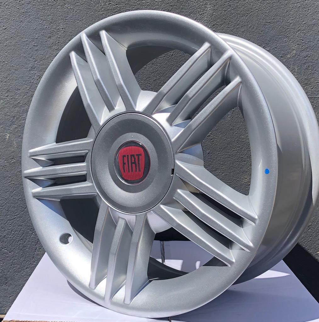 kit 4 Rodas Aro 16x7 Fiat Stilo Connect 4x98 Gd Original 100171157