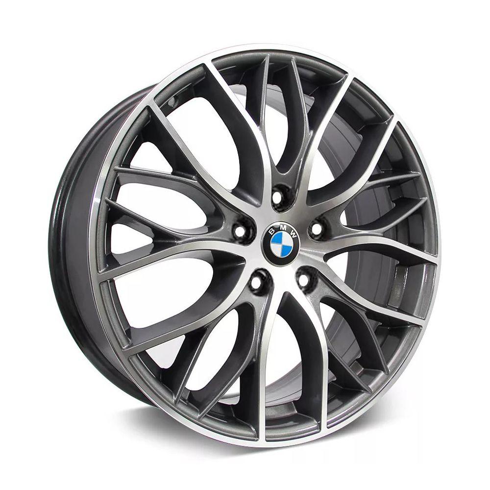 Kit 4 Rodas Aro 17x7 BMW 335i Biturbo 5x120 GD  Krmai R54