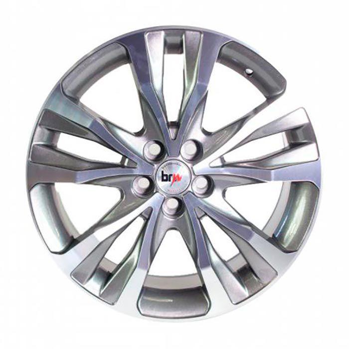 Kit 4 Rodas Aro 17X7 Corolla XRI 5X100 GD BRW 1280