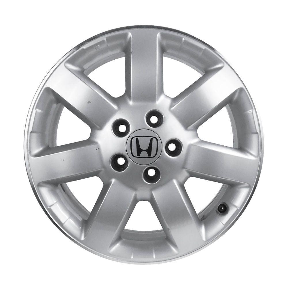 Kit 4 Rodas Aro 17x7 Honda CRV 5x114 Prata