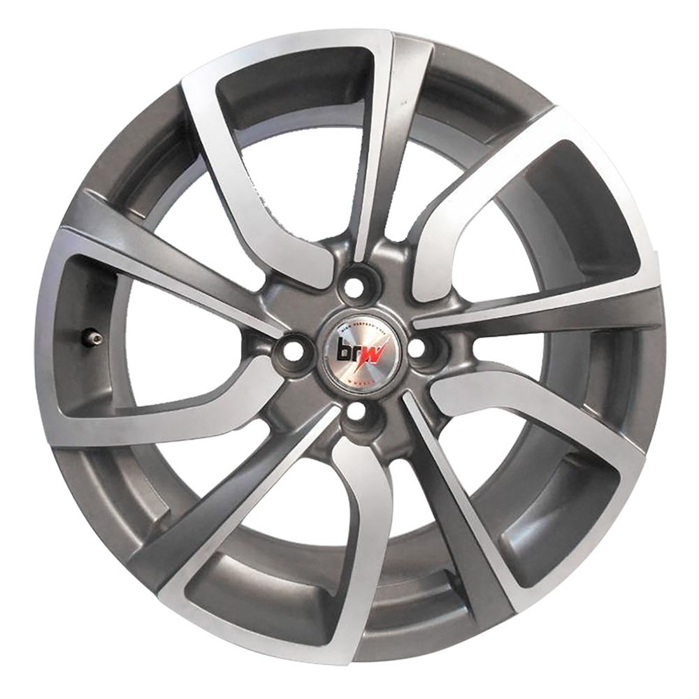 Kit 4 Rodas Aro 17X7 New Civic Type-R 5X114,3 GD BRW 1200