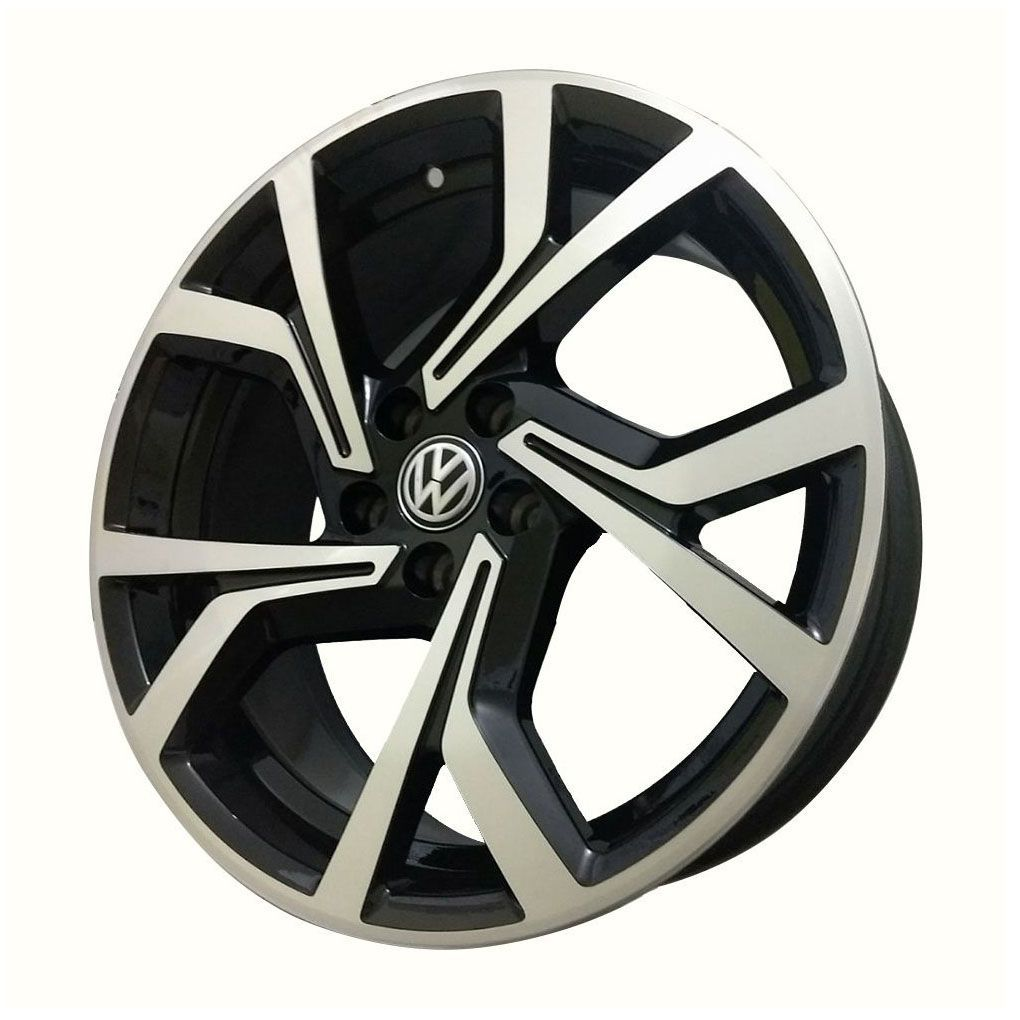 Kit 4 Rodas Aro 17x7 Vw Golf GTI 18 5x112 BD  Krmai R94