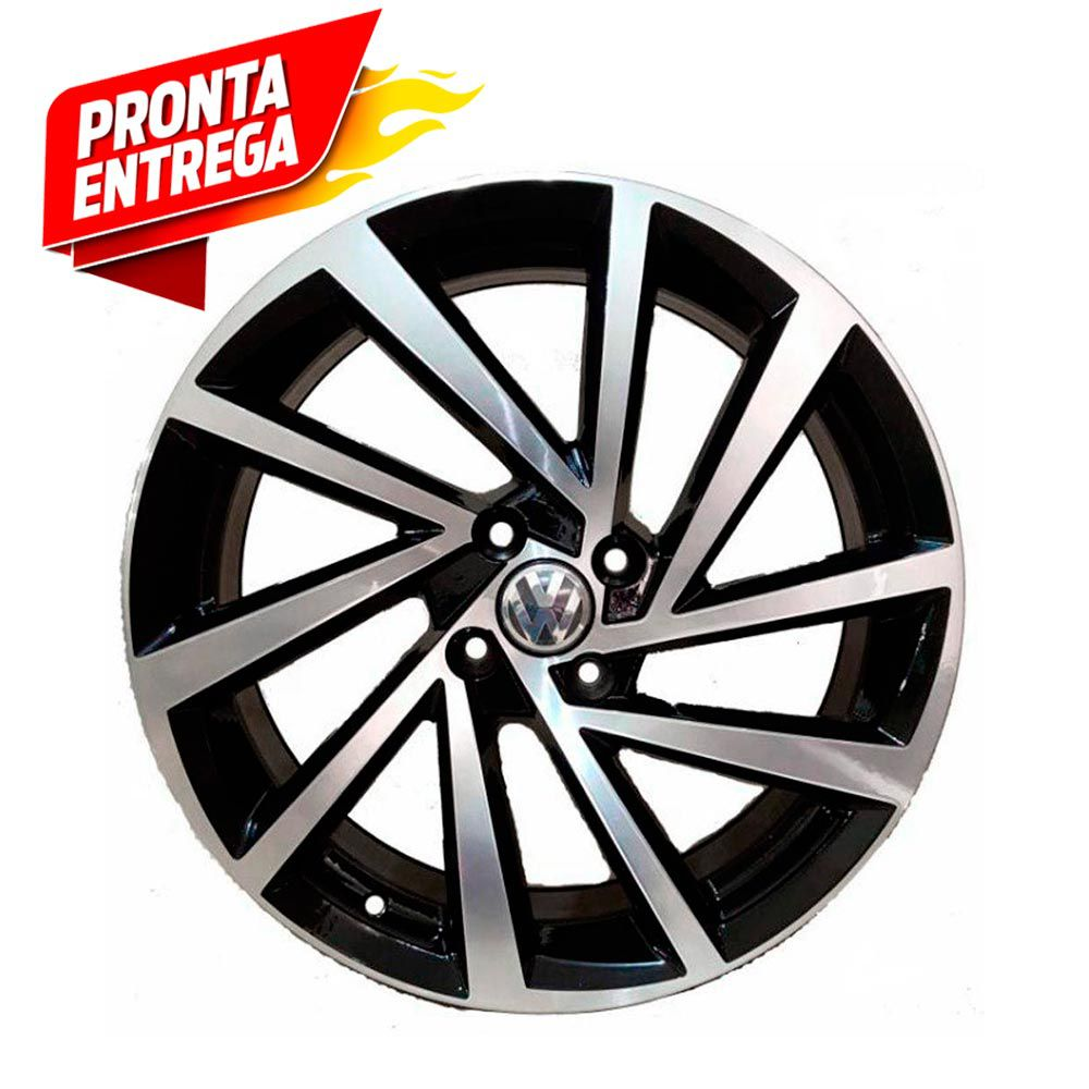 kit 4 Rodas Aro 17x7 Vw Golf R-line 2018 5x100 BD ZK-780