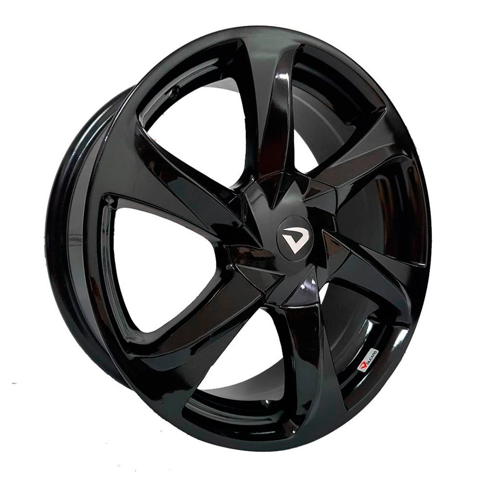 kit 4 rodas aro 18x6 Volcano V-140 Idea 011 4X98 Gfd