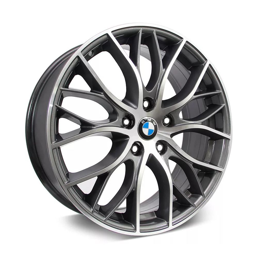 Kit 4 Rodas Aro 18x7 BMW 335i Biturb 5x110 GD Krmai R54