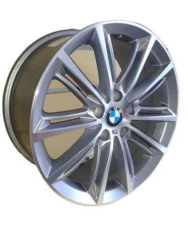 Kit 4 Rodas Aro 18x8/8,5 BMW M1 5x120 Gdf Raw