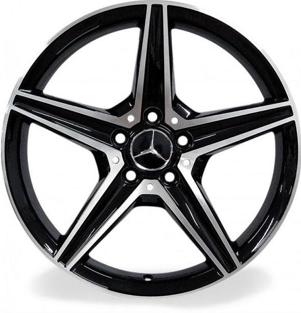 Kit 4 Rodas Aro 18x8 Raw Mercedes C250 5X112 BD C2