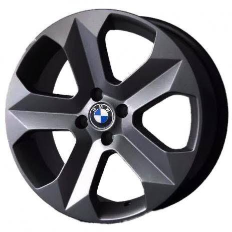 kit 4 Rodas Aro 20x7,5 BMW X6 Z5 4x100 Grafite Fosco Krmai K47
