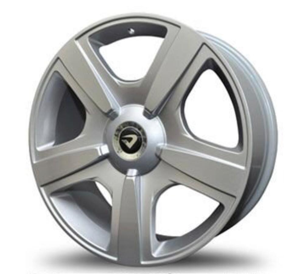 kit 4 Rodas Aro 20x7,5 Fuji Bentley SL Volcano 5x100/112 Prata