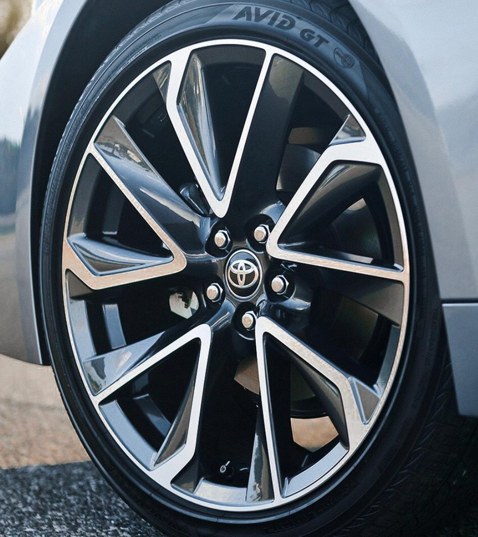 kit 4 Rodas Aro 20x7,5 Toyota Corolla 2020 5x100 BD Zk-880