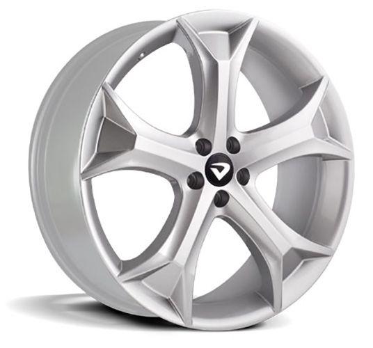 kit 4 rodas Volcano Spider Aro 20x7,5 5X112 Prata