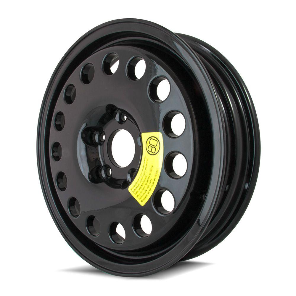 Rodas Aro 17x4 Black Estepe Mercedes/Vw 5x120 Black Et17 Krmai K58