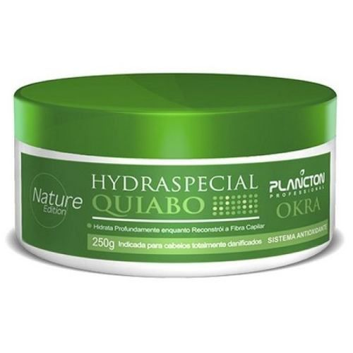 Kit Hydraspecial Quiabo Shamp + Cond + Masc 250g Plancton