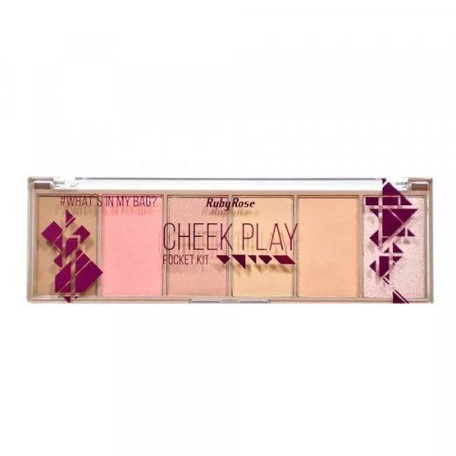 Paleta Pocket - Cheek Play - Ruby Rose - Hb-7515