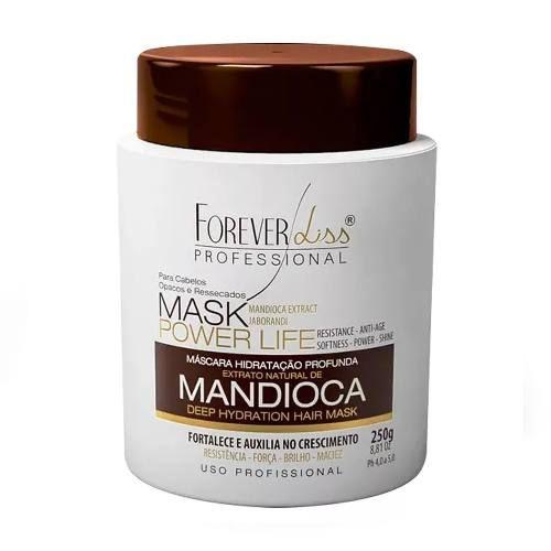 Mascara Hidratante Crescimento Mandioca 250g - Forever Liss