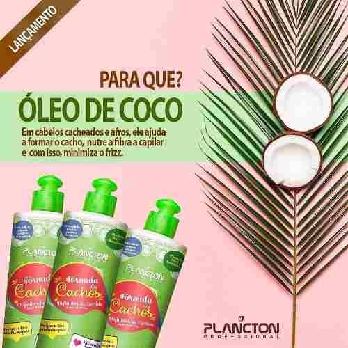 Kit Completo Manutencao Cachos - Plancton