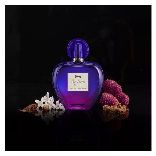 Her Secret Desire 80ml - Perfume Feminino Antonio Banderas