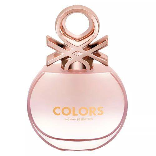 Edt Colors De Benetton Rose Perfume Feminino 80ml