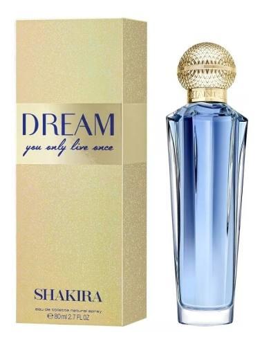 Perfume Feminino - Shakira Dream You Only Live Once - 80ml Edt