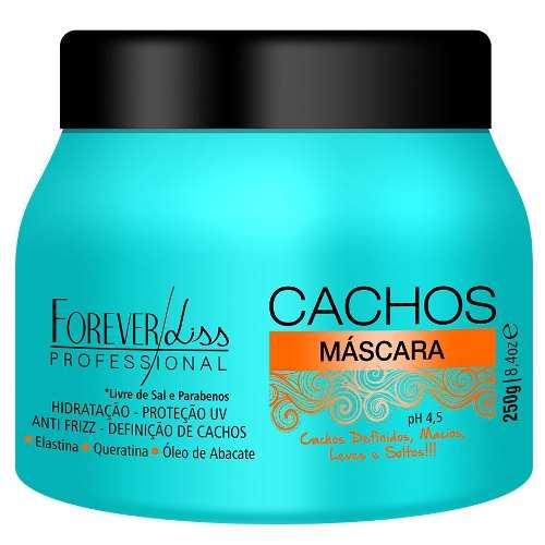 Máscara Cachos 250g - Cabelo Cacheado - Forever Liss