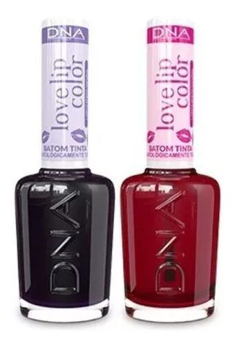 Kit 2 Batons Liquido Love Lip  Uva - Love Lip Pitaya - Dna