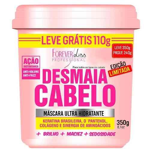 Kit Desmaia Cabelo Máscara 350g + Anabolizante 240g - Forever Liss