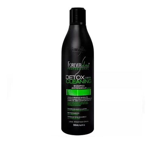 2 Shampoo Antirresiduo Detox Cleaning Abre Cuticulas Capilar