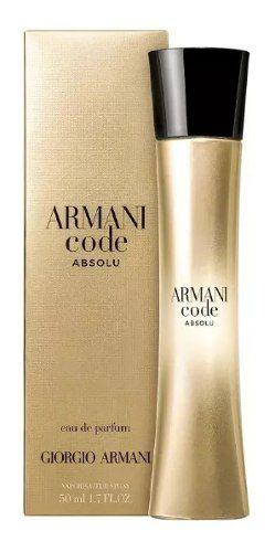 Armani Code Absolu Giorgio Armani Perfume Feminino Edp 50ml