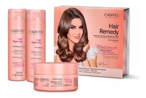 Kit Cadiveu Professional Hair Remedy Reparacao total