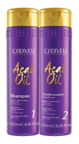 Kit Açaí Oil Kit Duo Shampoo + Condicionador Cadiveu