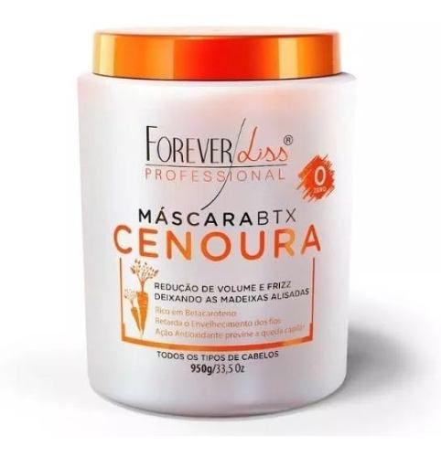 Kit Shampoo Detox 500ml + Btoxx Cenoura 1kg - Forever Liss